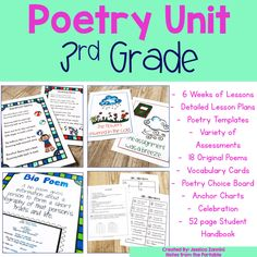 Do you hate to teach poetry? If so these tips and freebies will have both you and your students falling in love with reading and writing poetry!