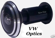 Black Metal 290 Degree Wide Angle Peephole Door Viewer Scope by VW Optics. $7.99. Replace your existing or purchase your first peephole with one of our 290 degree view door viewer. Having the most expensive security system is of no use if you open your door to somebody you don't know. Don't put yourself and your family at risk. WARNING! Don't be fooled by an imposter selling this product other than New-Vue that are claiming to be New-Vue Brand and are selling for $1.99 the...