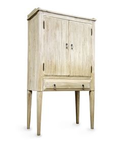 """CFC Lars Bar Cabinet - FURNITURE - Cabinets and Bookcases  H:62.5"""" W:34"""" D:18""""  $4125"""