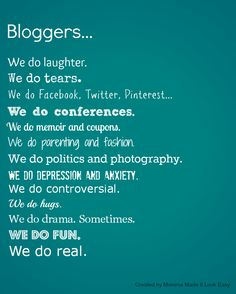 Bloggers are my favorite.