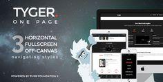 Tyger - Clean Corporate WordPress Theme