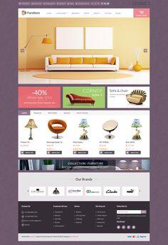 Themeforest Pav Furniture Responsive Opencart Theme http://theme4est.blogspot.com/2014/05/themeforest-pav-furniture-responsive.html