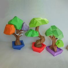 Thanks for the great review Ian B. ★★★★★! #etsy #modelmaking #diypapercraft3d #diylowpolyorigami #papercraftbundles #3dpapercraftpdf #diylowpolydecor #indoorbonsaitree #adultpapercraft #pdfpatterntree Origami Tree, 3d Origami, Tree Patterns, Pdf Patterns, 3d Paper Crafts, Paper Art, Indoor Bonsai Tree, Low Poly 3d Models, Art Addiction