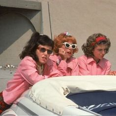 The Pink Ladies! - by & Retro Bedroom Wall Collage, Photo Wall Collage, Picture Wall, Bad Girl Aesthetic, Retro Aesthetic, Iconic Movies, Old Movies, Grease Movie, Grease 1978