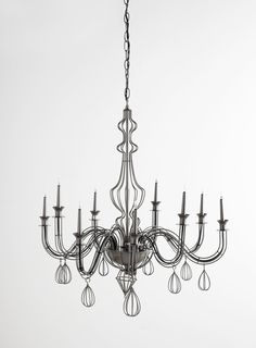 Chi good questions rewiring a chandelier chandeliers lights photo 3 of etra chandelier gothic wire chandelier mozeypictures Choice Image