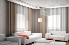 Moderne Vorhänge Für Wohnzimmer