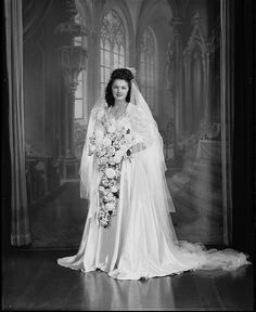 Bride, ca. 1939-1945 / Sidney Riley Studios | Flickr - Photo Sharing!