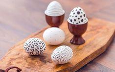 Ostereier verzieren: Mit Buntstiften tolle Muster zaubern
