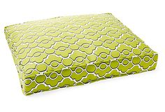 Printed Box Bed, Lime on OneKingsLane.com