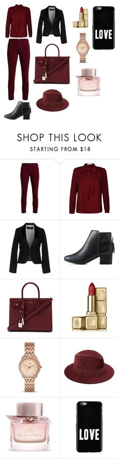 """""""Untitled #5"""" by almasahbazovic110 ❤ liked on Polyvore featuring Dsquared2, City Classified, Yves Saint Laurent, Guerlain, FOSSIL, Saks Fifth Avenue, Burberry and Givenchy"""