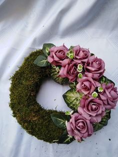 Christmas Wreaths, Christmas Decorations, Funeral, Mandala, Floral Wreath, Birds, Flowers, Xmas, Holiday Ornaments