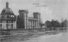 Ca 1910 - Palacio Museo Bellas Artes Pio V Hospital militar 1843-1940