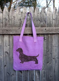 Hey, I found this really awesome Etsy listing at https://www.etsy.com/listing/173373503/dotty-dachshund-tote-bag-in-hand-dyed