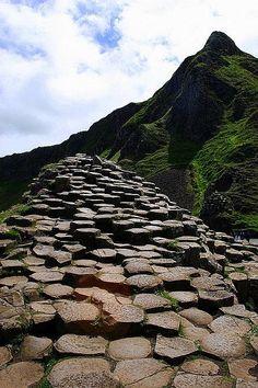 La via dei giganti: la leggenda narra che questa via collegasse l'Irlanda alla Scozia, North Ireland