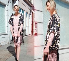 Little Mistress Kimono, Vintage Dress
