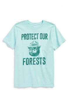 Peek+'Protect+Our+Forest'+Graphic+T-Shirt+(Toddler+Boys,+Little+Boys+&+Big+Boys)+available+at+#Nordstrom