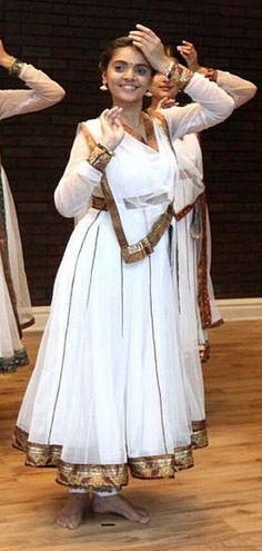 Kathak costume