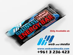 """Order """"web and media"""" Business Energy Bar from: Call: +9613236423"""