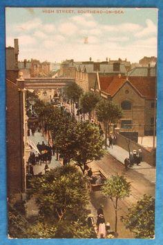 3 Postcards c.1905 THE KURSAAL,HIGH STREET & MARINE PARADE SOUTHEND ON SEA ESSEX | eBay