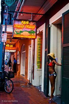 New Orleans!! Bourbon Street  Keeping it realllly