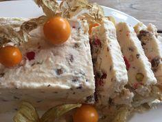 Aux Bulles Weihnachtsrezepte - Nougat glacé Nutella, Desserts Rafraîchissants, Grains, Eggs, Breakfast, Cooking Recipes, Noel, New Recipes, Egg