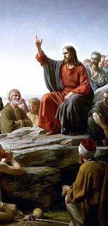roma año 30, Jesús predicando las virtudes del cristianismo.