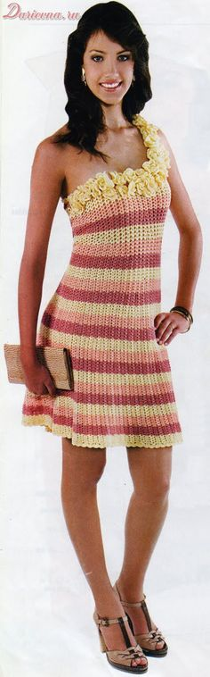 robes au crochet - Le monde-creatif