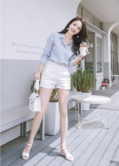 Korean Fashion Style 2019 Trends - Source by trangcucdd - Korean Fashion Kpop, Korean Fashion Dress, Kpop Fashion Outfits, Girls Fashion Clothes, Korean Street Fashion, Ulzzang Fashion, Asian Fashion, Look Fashion, Korean Fashion Summer