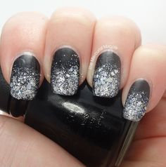 New Years winter nails