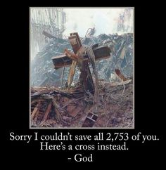 Here's a cross instead.