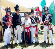 reconstitution Mexicains 1836