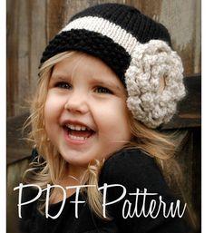 How cute is this hat for a little girl??    Knitting PATTERNThe Maisie Cloche' Toddler Child by Thevelvetacorn, $5.50 @Sheri | Pork Cracklins | Pork Cracklins | Pork Cracklins | Pork Cracklins | Pork Cracklins | Pork Cracklins Holtz @Lynette Skelton Skelton Skelton Skelton Skelton Skelton Hodnefield