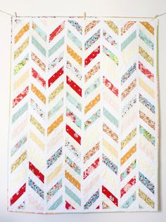 """My Song"" Herringbone Quilt Pattern, now if someone could just quilt this for me??"