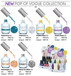 LeChat Perfect Match Gel + Matching Lacquer 2014 Pop Of Vogue Collection