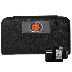 Clemson Tigers NCAA iPhone 5/5S Wallet Case