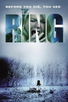 The Ring is a 2002 American supernatural psychological horror film directed by Gore Verbinski and starring Naomi Watts. It is a remake of the 1998 Japanese horror film Ring. Best Horror Movies, Horror Movie Posters, Scary Movies, Great Movies, Love Movie, Movie Tv, The Ring Movie Horror, Alfred Hitchcock, Movies Worth Watching