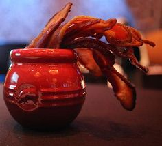 Bacon in Le Creuset!