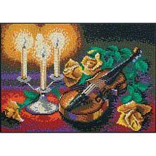 Ministeck® Still Life Violin Mosaic Art Kit