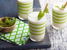 Make a ginger and lemongrass syrup to sweeten this twist on the classic piña colada.