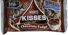chocolate fudge hershey kisses