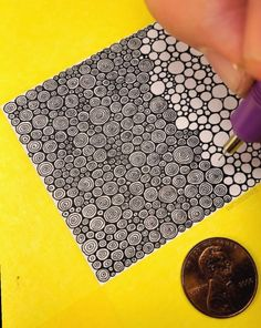 Ideas For Drawing Ideas Zentangle Circles Doodle Art Drawing, Zentangle Drawings, Mandala Drawing, Pencil Art Drawings, Doodles Zentangles, Zen Doodle, Cute Drawings, Drawing Ideas, Doodle Patterns