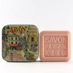 #FrenchFixe Savonnerie de Nyons May Rose Soap / Rose de Mai - 3.5 oz / 100 gr