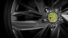 DS E-Tense Concept - Wheel detail
