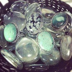 Beautiful stone rings! #rings #stones