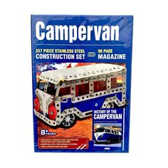 337 Piece Stainless Steel Campervan Construction Set Like Meccano for sale online Game Sales, Family Games, Campervan, Construction, Stainless Steel, Age, Ebay, Building