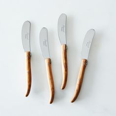 Olivewood Spreaders (Set of 4) on Provisions by Food52