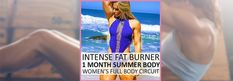 ☀️ How to Get Summer Body in a Month: Women's Rapid Fat Burner! You'll be Amazed!