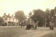 C.1905 postcard of Dulwich Village, also occasionally called its High Street, which formed the commercial heart of the area and still has an above average number of traditional independent shops. The Crown and Greyhound on the right has been the pre-eminent inn for the whole of the twentieth century.