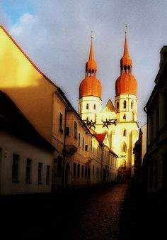 Slovakia OH MY GOD This is trnava aimee we know this place like the back of our hands Continental Europe, Church Building, Christian Church, Beautiful Places In The World, Central Europe, Eastern Europe, Capital City, Homeland, Hungary