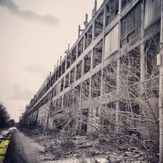 Urban exploration - Abandoned buildings in detroit